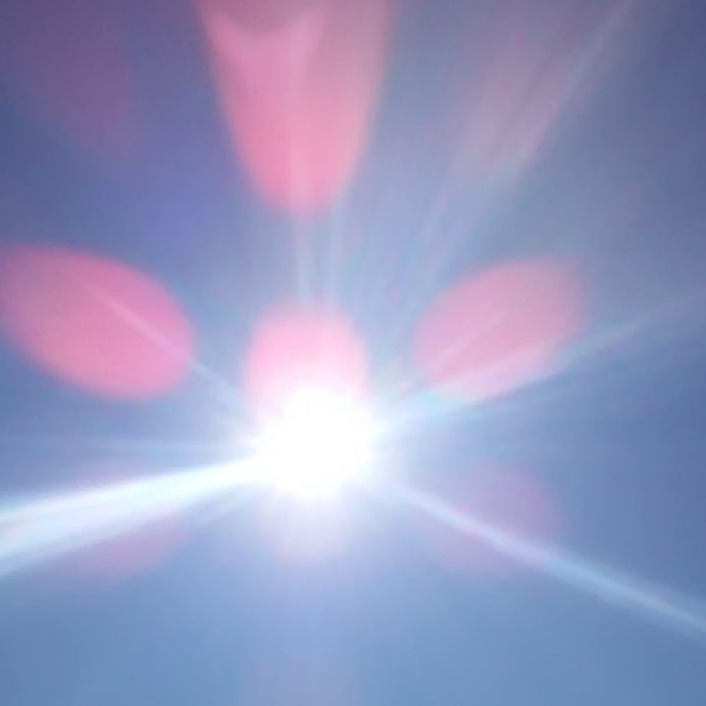 太陽の輝き