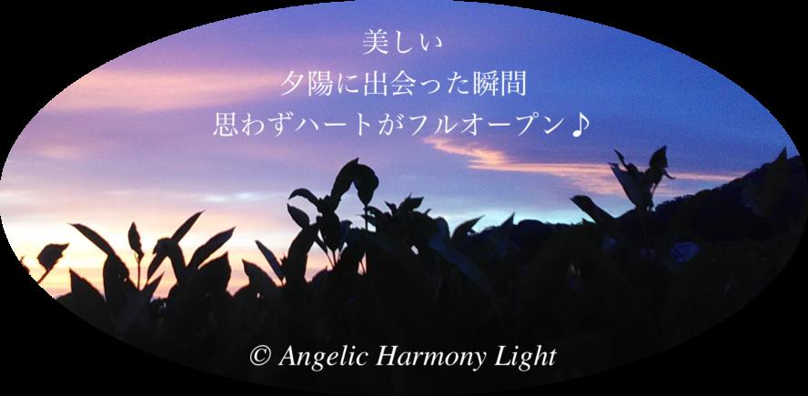 20180503 open-heart 感動の夕陽